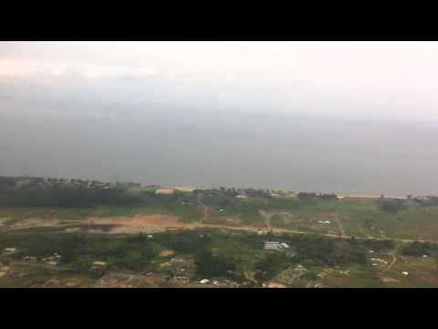 Libreville Gabon from the sky