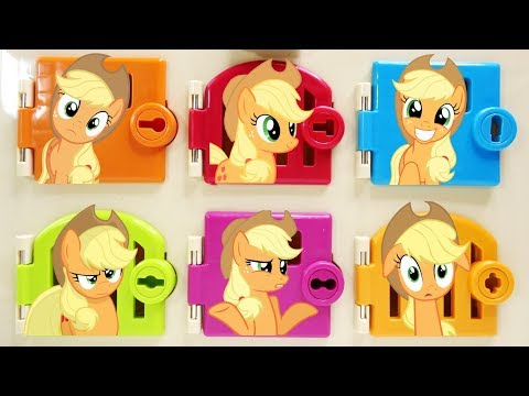My Little Pony Applejack Trapped Matching Colors and Surprises