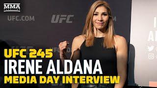 Irene Aldana Believes the Winner of Her Fight with Ketlen Vieira Should Receive Next Title Shot