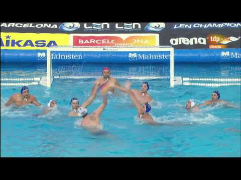 Final Primorje Por Recco Final Six 2015 part 1 water polo