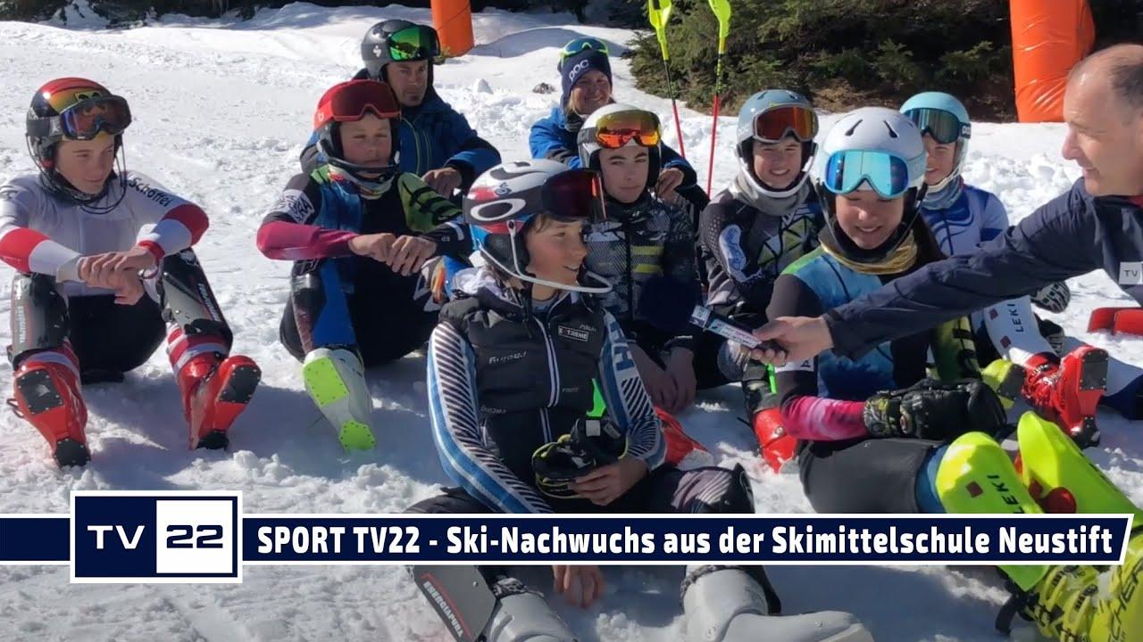 SPORT TV22: Eines der letzten Trainings der Saison vom Ski-Nachwuchs der Skimittelschule Neustift