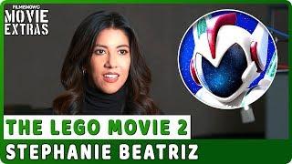 """THE LEGO MOVIE 2   On-studio Interview with Stephanie Beatriz """"General Mayhem / Sweet Mayhem"""""""