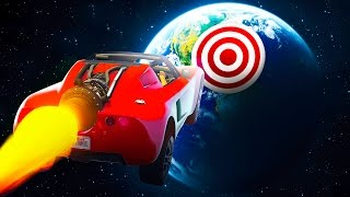 CAN YOU HIT THIS TARGET FROM SPACE?! (GTA 5 Funny Moments)