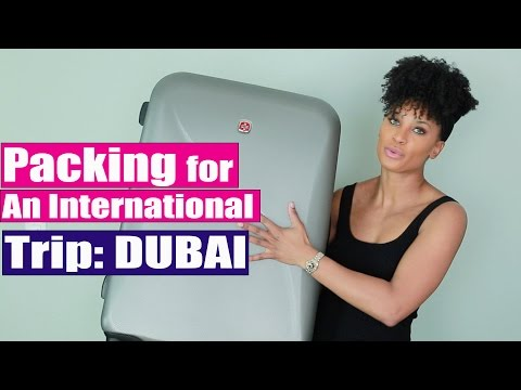 How to Pack for an International Trip