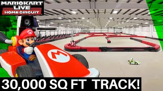 How I Transformed a MASSIVE Racetrack into the Ultimate Mario Kart Live: Home Circuit Experience