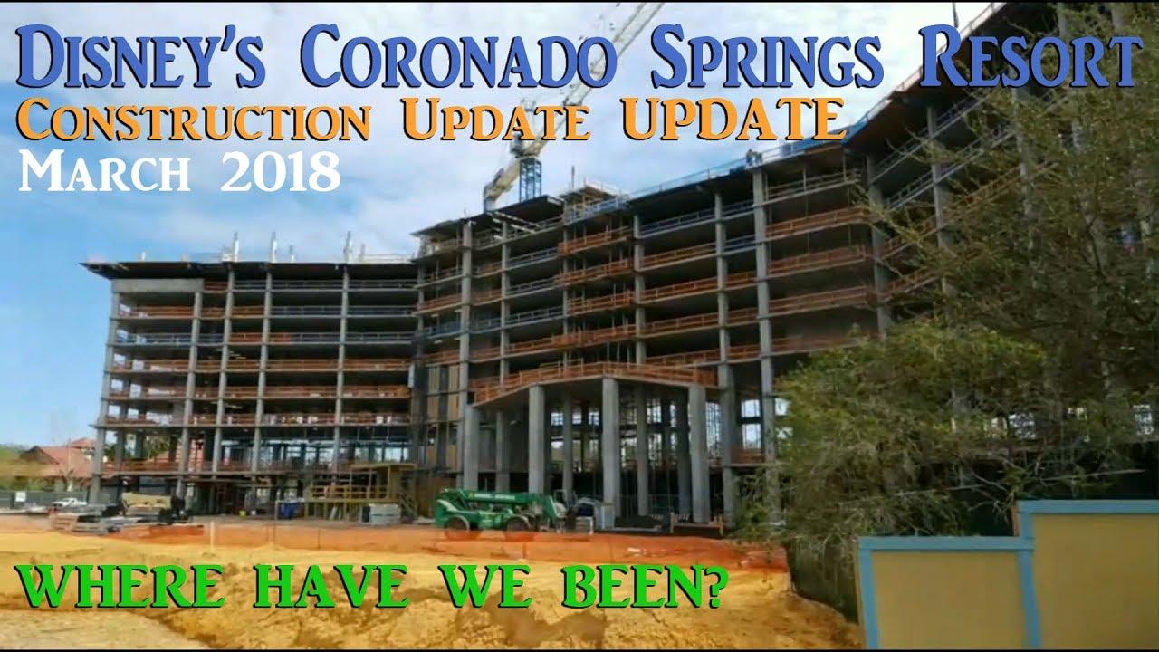 Disney S Coronado Springs Construction Update Update Youtube