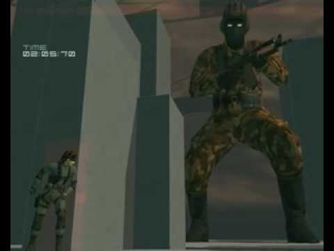mgs2 snake vr missions variety level 6 - YouTube
