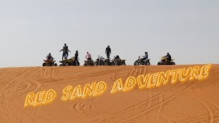 RED SAND  OFF ROAD ADVENTURE 2017-RIYADH ,SAUDI ARABIA..