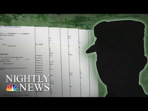 U.S. Soldier Allegedly Spoke Of Bombing Major News Network | NBC Nightly News