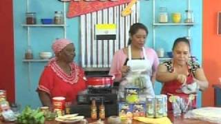Grace and You Cooking Show - featured Garifuna dish - Bundiga