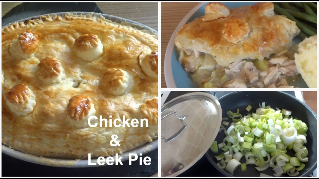 Quick Chicken Leek Pie