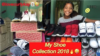 Shoe Collection 2018🤩🔥 | love curlykay