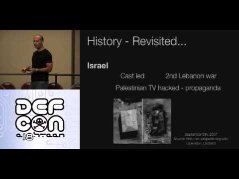 DEF CON 18 Hacking Conference Presentation By Iftach Ian Amit Cyber Crime War Charting Dangerous Wat