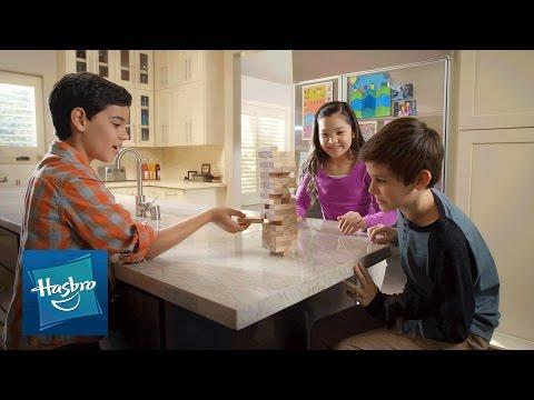 Vidéo Hasbro Gaming France - 'Jenga - La Tour Infernale' Pub TV