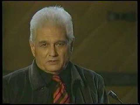 Jacques Derrida: Section 1