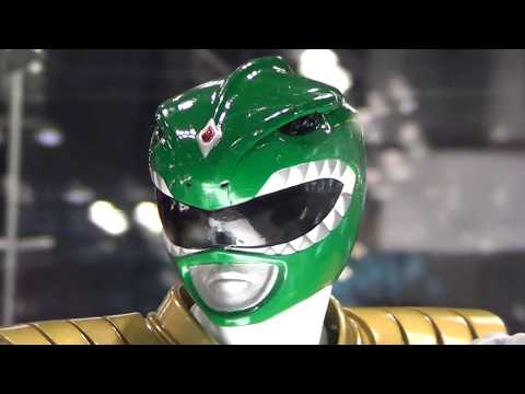 Pop Culture Shock Green Ranger 1/4 Scale Statue at NYCC 2017