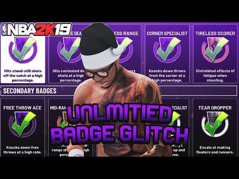 *NEW* NBA 2K19 INSTANT MAX BADGE GLITCH!MAX OUT BADGES THE FASTEST WAY!AFTER ALL PATCHES
