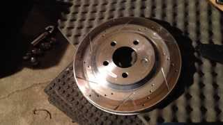 2011 2014 mustang powerstop rotor and pad brake review