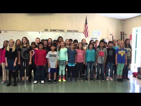 National Anthem Lipman Middle School