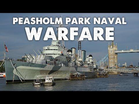 Peasholm Park Naval Warfare