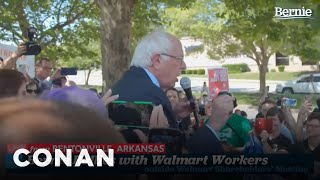 Bernie Sanders Is Outraged At Walmart's Pickle Selection - CONAN on TBS