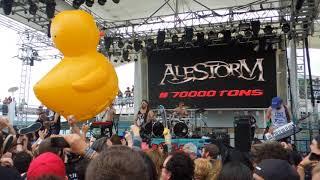 Alestorm at 70000 Tons of Metal 2018 - The Sunk'n Norwegian
