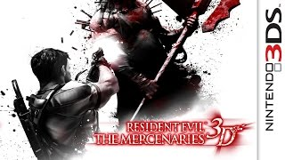 Resident Evil The Mercenaries 3D Gameplay {Nintendo 3DS} {60 FPS} {1080p}