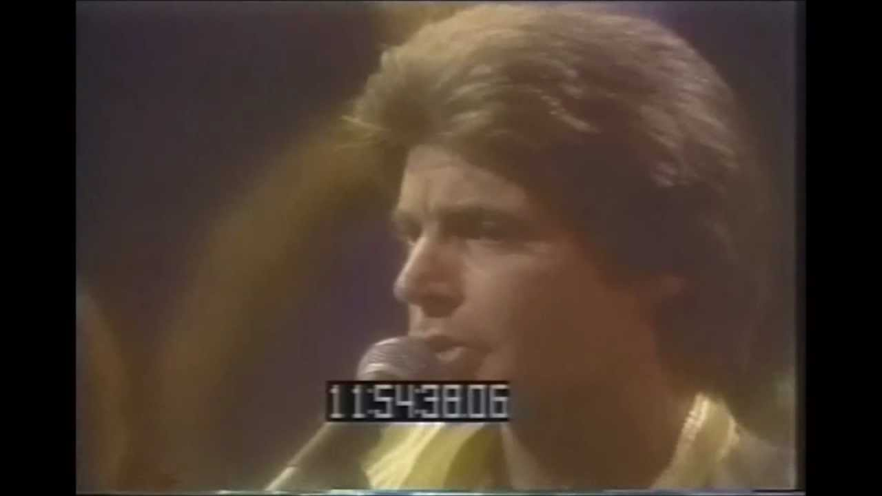 Rick Nelson Back To School Days Live 1981 - YouTube