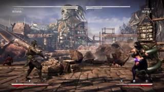 Mortal Kombat X: Kitana Mournful Combos