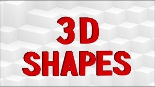 Learning Shapes | 3D Shapes | Techno Version | Kid