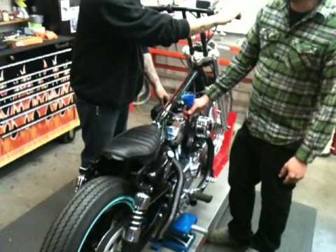 Alexs Bratstyle Sportster Fires Up Again