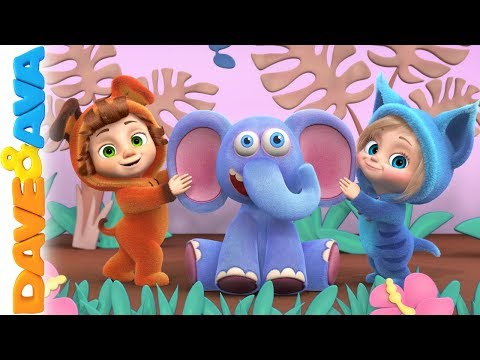 😄 Ba Songs and Nursery Rhymes  Kids Songs  Dave and Ava 🐶