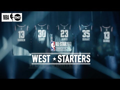 Western Conference All-Star Starters Revealed | NBA on TNT
