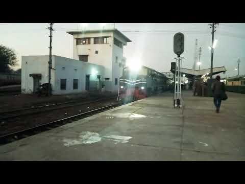 13 Up Awam Express Departure Karachi Cantt. KC