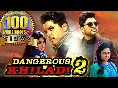 Dangerous Khiladi 2 (Iddarammayilatho) Hindi Dubbed Full Movie | Allu Arjun, Amala Paul, Catherine thumbnail