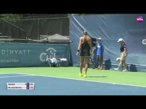 2017 Citi Open Day 3 | Shot of the Day | Kristina Mladenovic