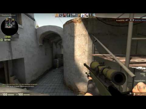CS:GO Best Mid Awp Kill (HEADSHOT Dust 2)