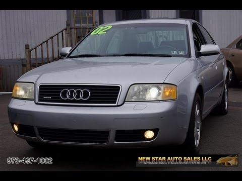 2002 audi a6 3 0 quattro sedan youtube. Black Bedroom Furniture Sets. Home Design Ideas