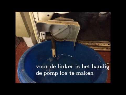 Favoriete Miele wasmachine schokdemper vervangen - YouTube AM29