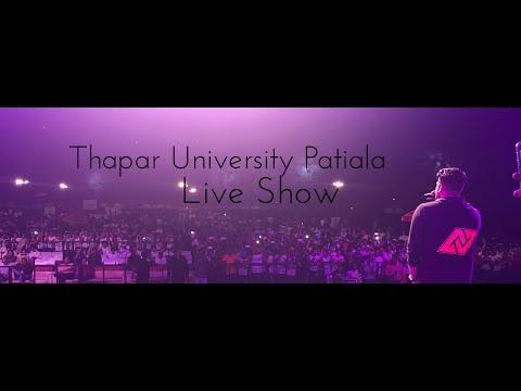 Thapar University Live Performance 2017 - Navv Inder