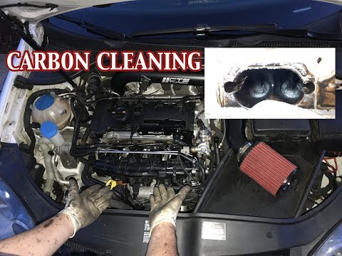 VW/AUDI FSI INTAKE MANIFOLD REMOVAL AND CARBON CLEANING   DIRECT INJECTION