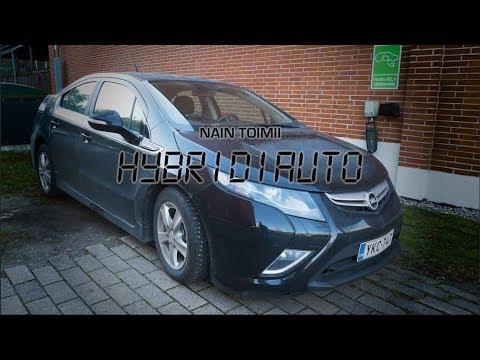 Opel Ampera -hybridiauton käyttäminen