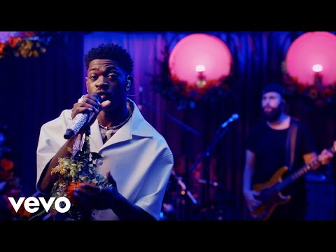 Lil Nas X - THATS WHAT I WANT in the Live Lounge