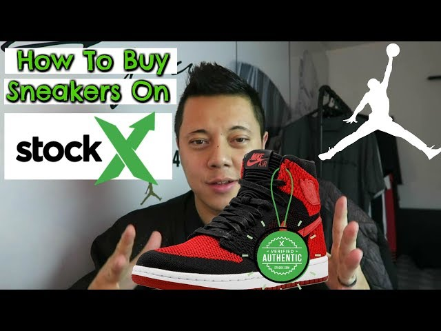 How To Buy Sneakers On StockX!