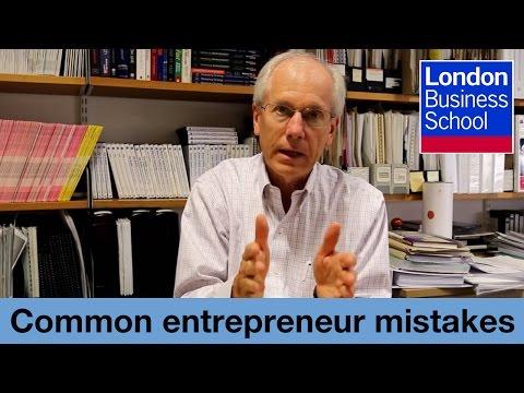 John Mullins: Assessing Opportunities: Common Mistakes   London Business School