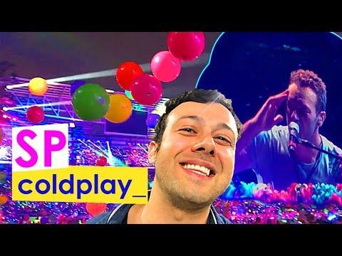 Melhores Momentos Show do COLDPLAY São Paulo-SP 2017