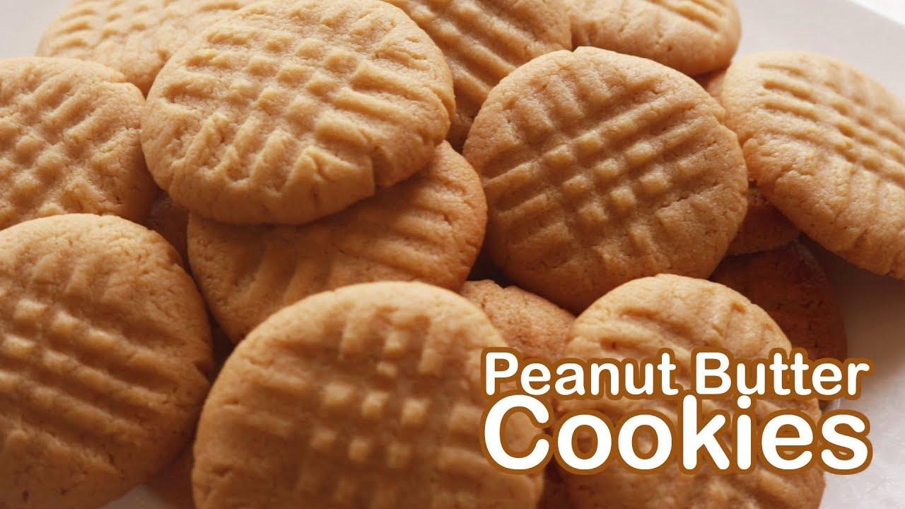 คุกกี้เนยถั่ว Peanut Butter Cookies l ครัวป้ามารายห์
