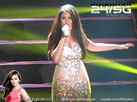 "24/SG Sarah sings And I am Telling You (Jul 21, '12) ""Buwis buhay"""