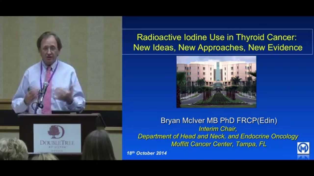 thyroid cancer radioactive iodine use new ideas and