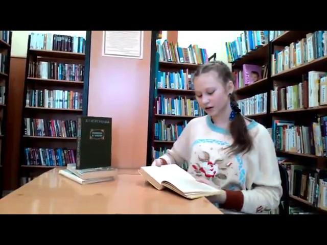 Изображение предпросмотра прочтения – АленаДеревягина читает произведение «Дети подземелья» В.Г.Короленко